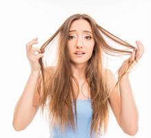 cheveux mixtes fins