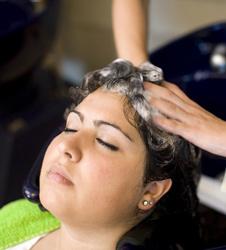 émulsion du shampoing Géomer