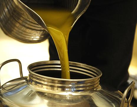 huile d'olive saponifiée