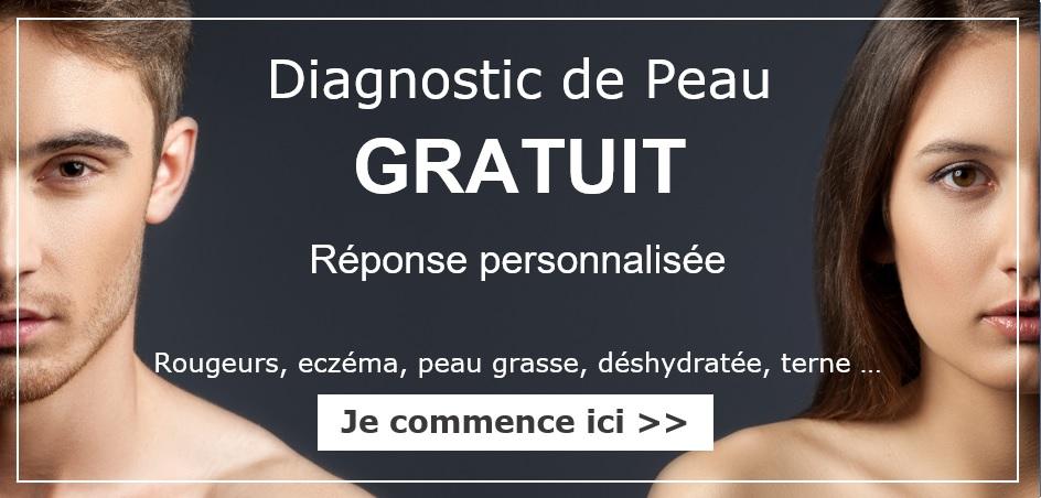 faites votre diagnostic de peau Géomer pour adapter vos produits à vos besoins