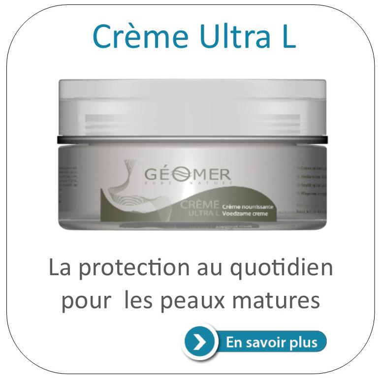 crème ultra L du laboratoire géomer