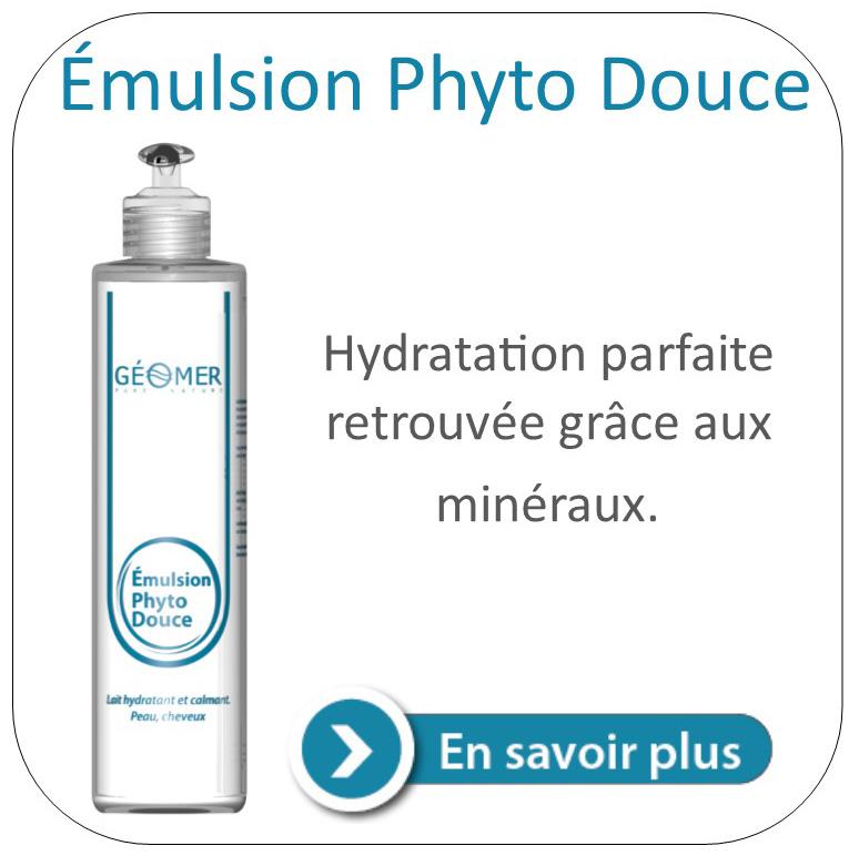 émulsion phyto douce du laboratoire géomer