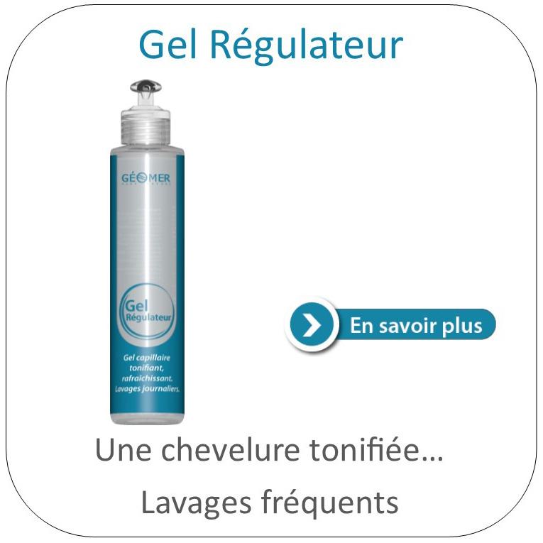 gel régulateur du laboratoire géomer