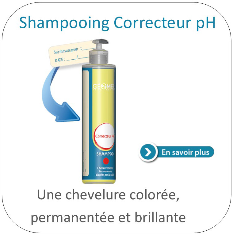shampoing correcteur ph géomer