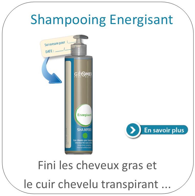 shampoing énergisant géomer