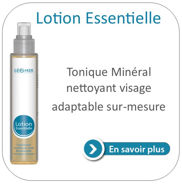lotion essentielle du laboratoire géomer