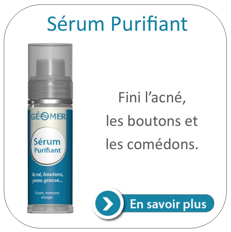 Sérum purifiant géomer