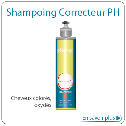 shampoing correcteur pH d'été