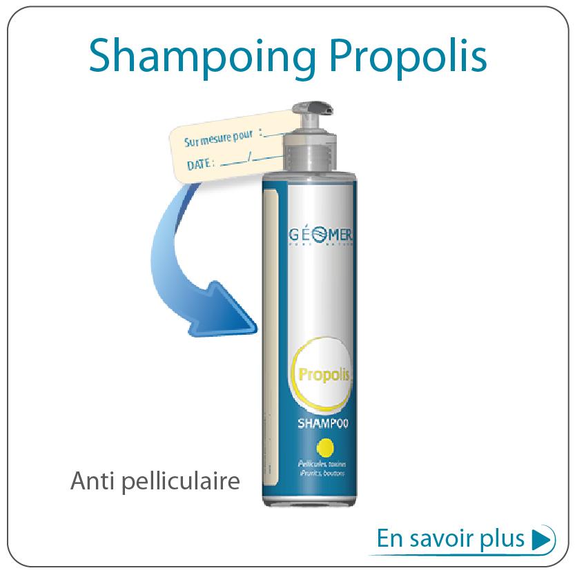 shampoing propolis du laboratoire géomer